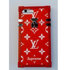Brand New Supreme x Louis Vuitton iPhone7+8+ case